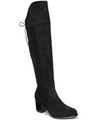 American Rag Leonna Over The Knee Boots Only At Macy's Women's Shoes Black