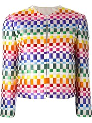 Roberto Capucci Woven Ribbon Jacket Multicolour