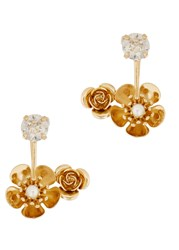 Ca And Lou Bella 24Kt Gold Plated Ear Cuffs