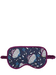 Olivia Von Halle Floral Printed Silk Satin Eye Mask