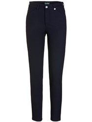 Golfino Technical Tweed Trousers Navy
