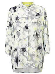 Numph Kira Printed Shirt Cloud Dancer