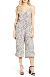 Cupcakes And Cashmere Women's Gale Paisley Romper