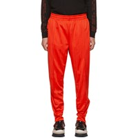 Adidas By Alexander Wang Originals Red Track Pants