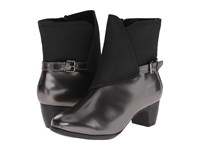 Softwalk Puddles Graphite Black Box Leather Man Made Women's Boots
