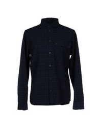 Marc By Marc Jacobs Shirts Dark Blue