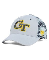 Top Of The World Georgia Tech Yellow Jackets Pursuit M Fit Cap Gray