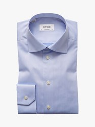 Eton Micro Plain Signature Twill Shirt