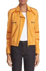 Tomas Maier Women's Suede Bomber Jacket