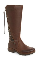Bionica Epping Waterproof Knee High Boot Brown Leather