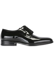 Saint Laurent Varnished Derbies Black