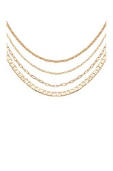 8 Other Reasons Rhi Choker Set Metallic Gold