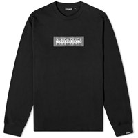 Napapijri Long Sleeve Sox Tee Black
