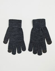Pieces Touch Screen Glove In Grey