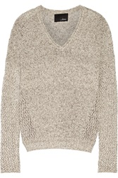 Line Zane Knitted Sweater Gray