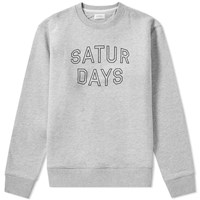 Saturdays Surf Nyc Bowery Convex Sweat Grey