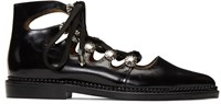 Toga Pulla Black Lace Up Boots