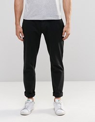 Ymc Tapered Fit Trousers Black