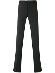 Billionaire Paneled Tailored Trousers Black