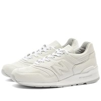 New Balance M997bsn 'Bison Leather' Made In The Usa White