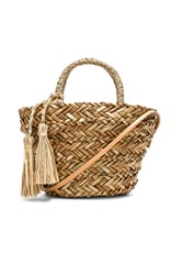 Hat Attack Petite Seagrass Tote Tan