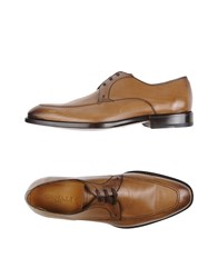 Canali Lace Up Shoes Khaki