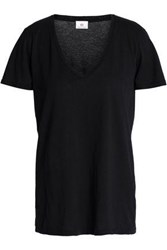 Ag Adriano Goldschmied Cotton Jersey T Shirt Black