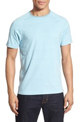 Men's Thaddeus 'Crawley' Raglan Sleeve T Shirt Sky Blue