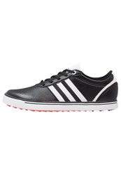 Adidas Golf Adicross V Golf Shoes Core Black White Core Red