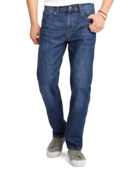 Izod Regular Fit Dark Vintage Wash Jeans