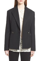 Women's Lanvin Two Button Wool Blazer