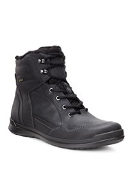 Ecco Howell Gtx Nubuck Lace Up Boots Black