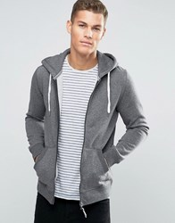 Esprit Zip Up Hoodie Dark Grey