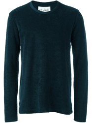 Our Legacy Crew Neck Sweatshirt Blue