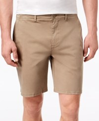 Dkny Men's Sateen Stretch Shorts Fallen Rock
