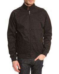 Ben Sherman Harri' Black Cotton Jacket
