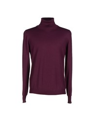 Gran Sasso Knitwear Turtlenecks Men Garnet