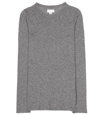 Velvet Zofina Cotton Blend T Shirt Grey