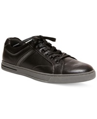 Steve Madden Drill Low Rise Sneakers Men's Shoes Black