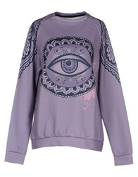 Happiness Sweatshirts Lilac