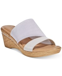 Easy Street Shoes Tuscany Adagio Sandals Women's White Patent