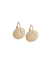 Large Disc Earrings With Diamonds Jamie Wolf