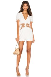 For Love And Lemons Elenora Romper White