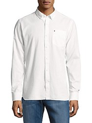 Victorinox Textured Cotton Shirt Classic White