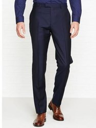 Reiss Harry Modern Fit Trousers Navy