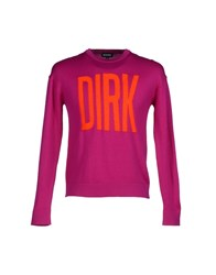 Dirk Bikkembergs Knitwear Jumpers Men Garnet