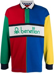 United Colors Of Benetton Colour Block Polo Shirt 60
