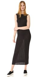 Veda Hollywood Reversible Dress Thin Stripe