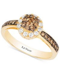 Le Vian Chocolatier Diamond Ring 1 2 Ct. T.W. In 14K Gold Yellow Gold