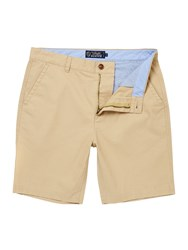 Howick Boston Chino Flat Front Shorts Biscuit